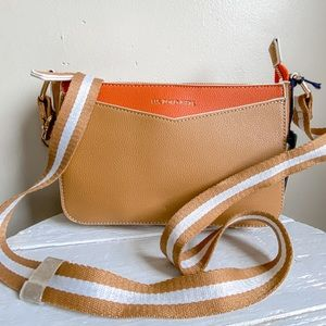 U.s. polo brown crossbody bag purse